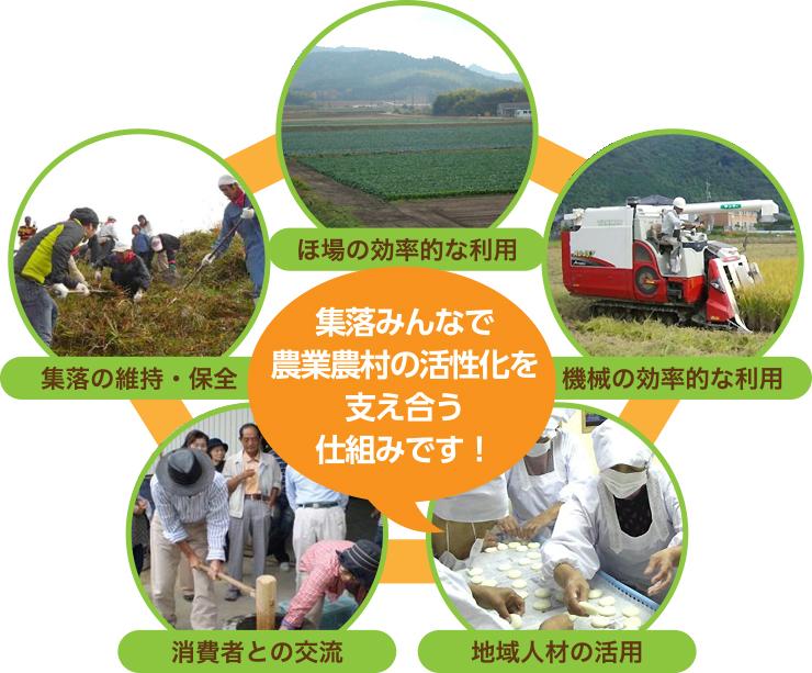 山口県における集落営農法人の取り組み
